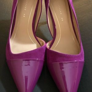 Gorgeous purple pointy Zara Heel Size 9